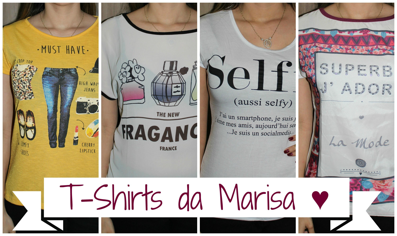 Dica de Amiga - T-Shirts da Marisa