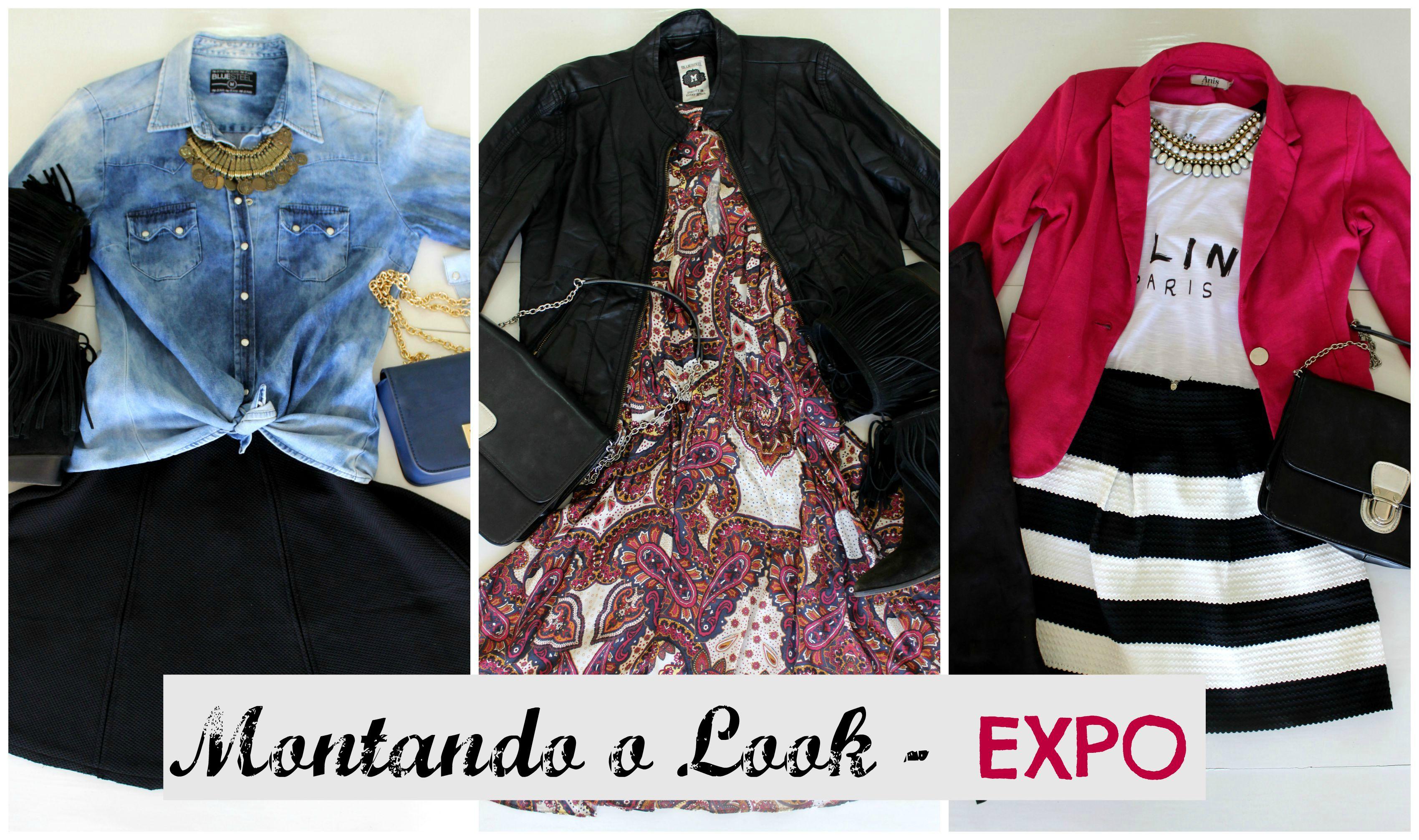 montando o look-expo